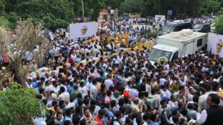 Funeral procession for AB Vajpayee