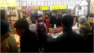 台北的南门市场主要特色就是外省食材,这点可以从商家的招牌得窥一二。