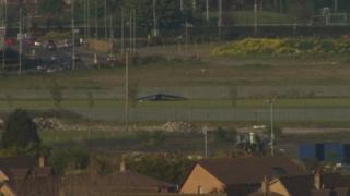 Light aircraft crash in Newtownards