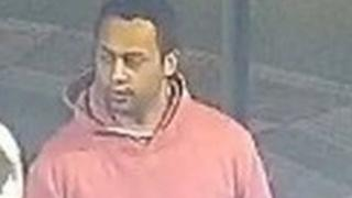CCTV of a man police want to speak to