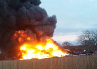 Seaton Delaval fire