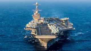 Hàng không mẫu hạm USS John Stennis của Hải quân Hoa Kỳ