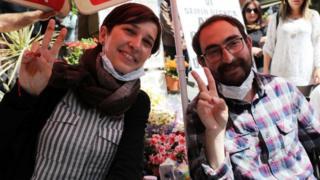 Nuriye Gülmen ve Semih Özakça açlık grevlerinin 63'üncü gününde