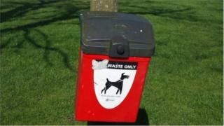 Dog foul bin