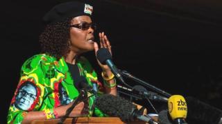 Grâce Mugabe est soupçonnée d'avoir frappé deux femmes dans un hôtel de Johannesburg.