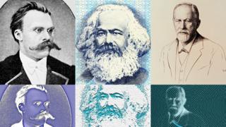 Nietzsche, Marx y Freud