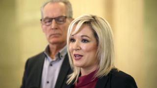 Michelle O'Neill and Gerry Kelly