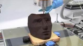3D પ્રિન્ટેડ ચોકલેટ