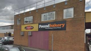 The headquarters of Sayers and Poundbakery Ltd