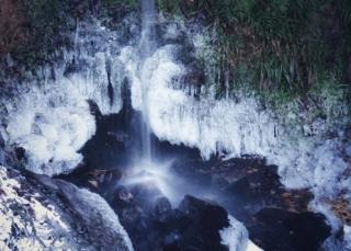 An icy Maspie Den
