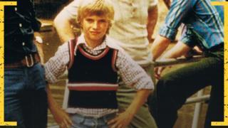 A young Jurgen Klopp