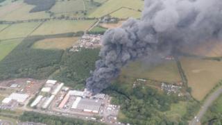Langley Park fire