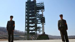 북한 최서단인 평안북도 철산군 동창리에 위치한 서해 로켓발사장