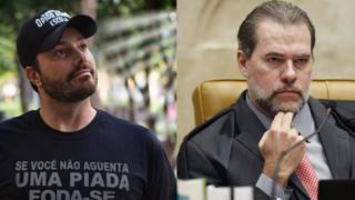 Danilo Gentili e Dias Toffoli