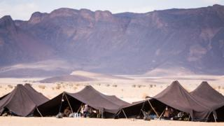 Tents at the Marathon des Sables