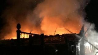 Weymouth fire