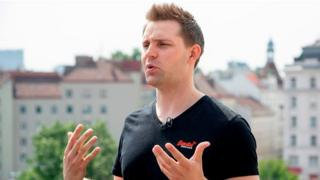 Max Schrems, Austrian lawyer and privacy activist, who is the head of new NGO 'None of Your Business' (NYOB).