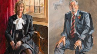 Helen Stephens, Head Porter, Selwyn College; Grahame Appleby, Head Porter, Jesus College
