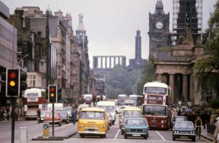 Edinburgh in the 1970s