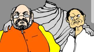कोलकाता : निवडणूक हिंसाचारदरम्यान ईश्वरचंद्र विद्यासागर यांच्या पुतळ्याची तोडफोड