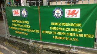 Harlech street takes record as steepest in the world