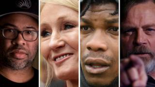 in_pictures Jordan Peele, JK Rowling, John Boyega, Mark Hamill
