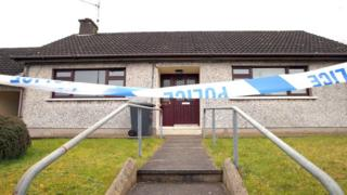 The fatal fire was at a house on on Highfield Road, Magherafelt