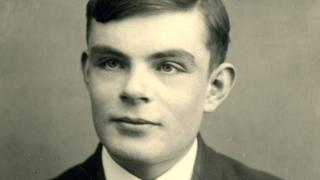 Alan Turing as a schoolboy