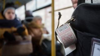 Талончики в автобусе