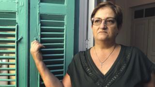 Familiar de desaparecidos en Chipre