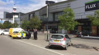 Police at Cardinal Park, Ipswich