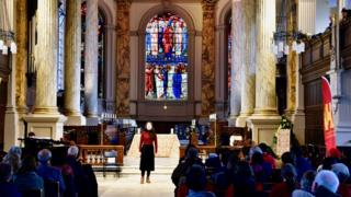 Chinese music soloist at St Philip's Cathedral