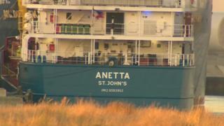 MV Anetta ship