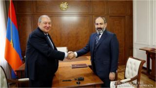 Armen Sarkisyan, Nikol Paşinyan