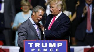 выборы, сша, найджел фарадж, дональд трам, хиллари клинтон