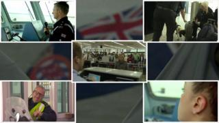 The Border Force manages UK border controls on customs and immigration.