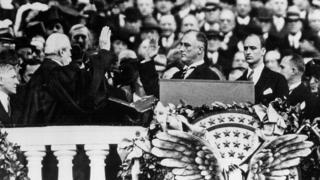 Первая инаугурация Рузвельта
