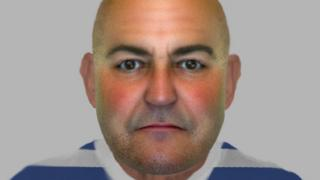 E-fit of man wanted by police