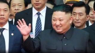 Kim Jong-un yakoze urugendo rw'ibirometero 4000 rwamaze imisi ibiri gushika muri Vietnam
