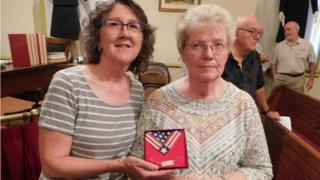 Killed WW2 US soldier's bracelet reunited with family