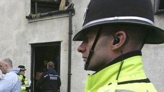 UK POLICE RAIDS
