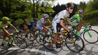 Giro D'Italia bisiklet yarışı