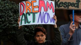 Protesta a favor de DACA