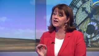 Plaid leader Leanne Wood