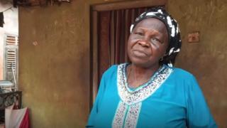 Woman wey dey collect Abacha loot