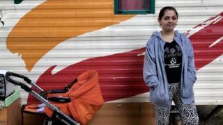 Sibelgiana, 16 years old, belongs to the Roma community