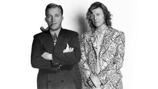 Bing Crosby and David Bowie.