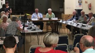 Portishead Town Council meeting