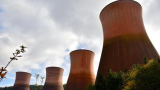 Ironbridge's four cooling towers