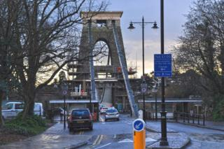 Clifton Suspension Bridge toll booths